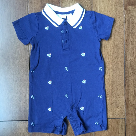 First Impressions Other - Sailboat romper